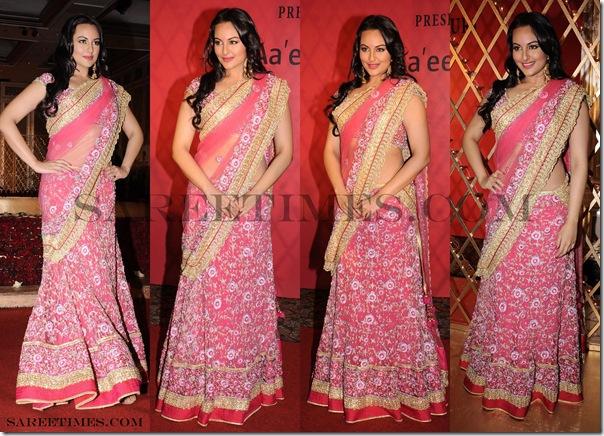 Sonakshi_Sinha_Maheka_Mirpuri_Pink_Saree