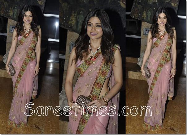 Shamita_Shetty_Designer_Saree