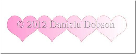 Four Hearts by Daniela Dobson