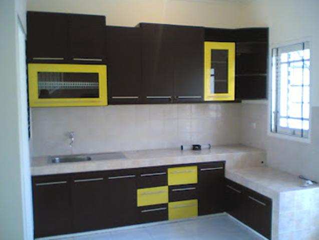 gambar dapur minimalis type 36