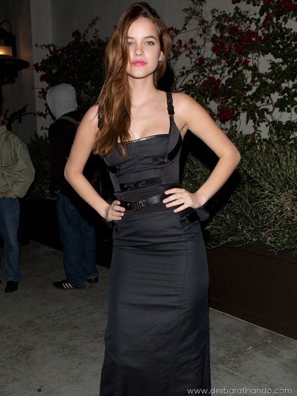 Victoria's Secret Model Barbara Palvin at Spargo Restaurant in Beverly Hills, CA