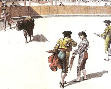 1898-07-11 La Lidia Una leccion de Dominguez (Detalle) 001