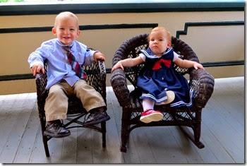 Porch Twins!