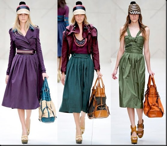 Burberry Prorsum London Fashion Week Spring Summer 2012