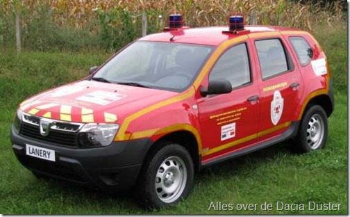 Dacia Duster Firefighter 01