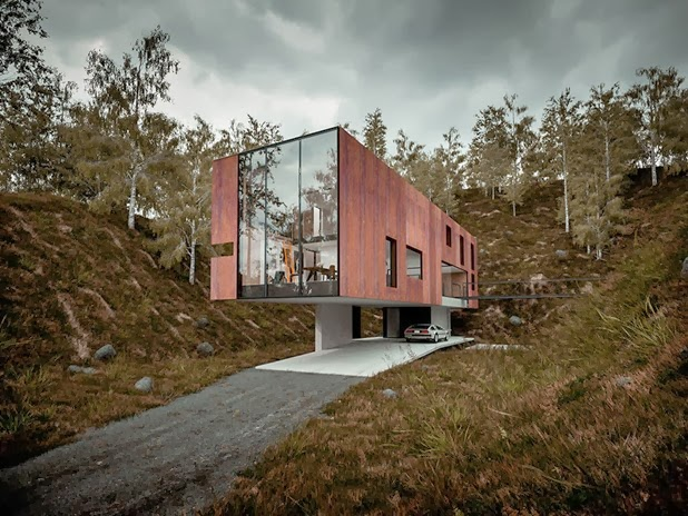 house for a photographer by hyde   hyde architects 2
