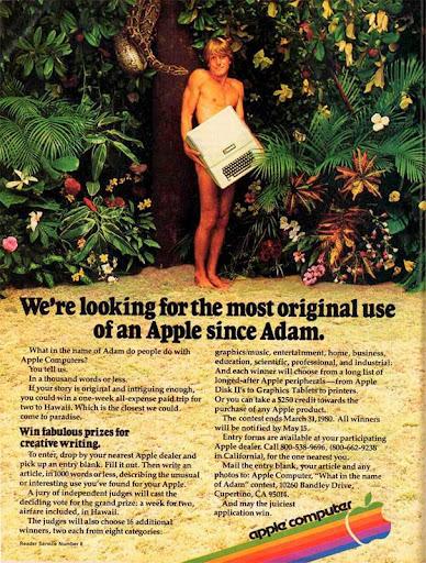 Реклама компьютера Apple