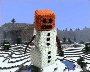 Snowman-Minecraft-Crochet-Di-Day