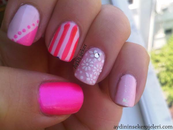 pink nail polish designs nail designs hair styles