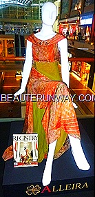 Alleira batik dress Marina Bay Sands Singapore