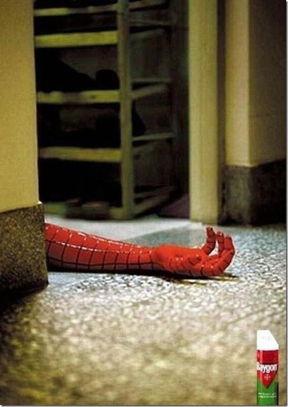 Como deter o homem aranha