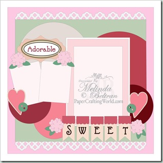sweet 1pg layout by Melin-500
