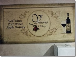 diVittorio Winery Sign