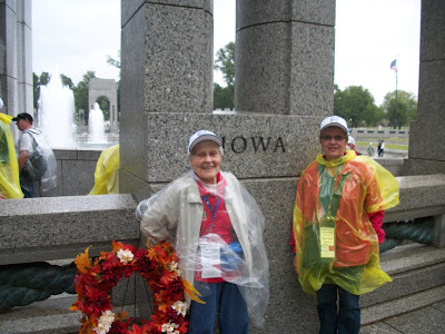 World War II Veteran Mary Case with her Guardian Susan Davis.  Photo courtesy:  Susan Davis