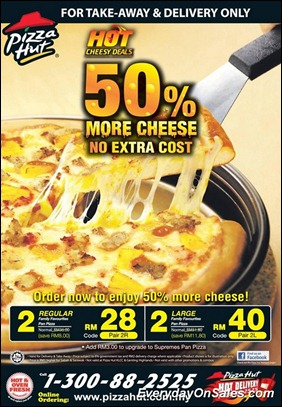 Pizza-Hut-Hot-Cheesy-Deals-2011-EverydayOnSales-Warehouse-Sale-Promotion-Deal-Discount