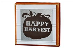 Happy Harvest Block