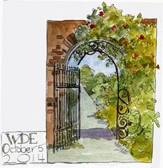wde garden arch 5 5 14