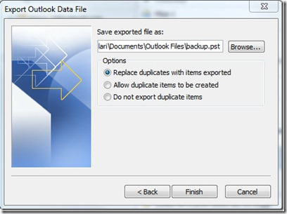 How To Use Import And Export In Outlook 2010 10