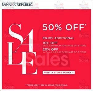 Banana Republic Year End Sale 2013 Jualan Gudang Jimat Deals EverydayOnSales Offers