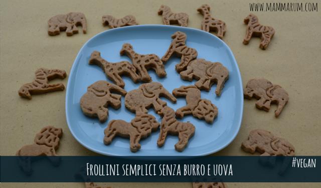 frollini biscotti semplici vegan
