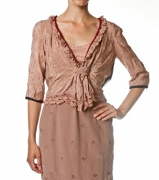 #060 The silken blouse v rose