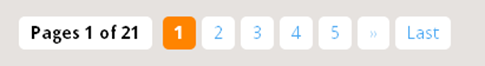 paginas numeradas no blog