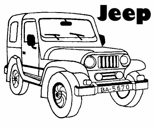 Excelente Jeep Colorear Páginas Imprimir Foto - Ideas Para Colorear ...