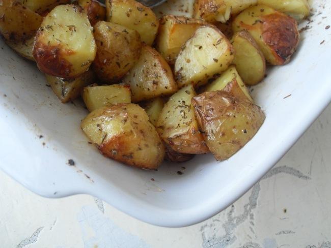 En rest kartofler fik nyt liv i ovnen