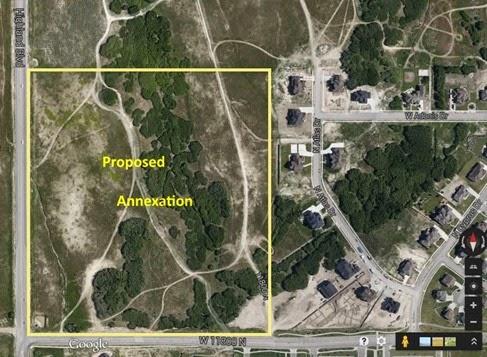 2015-02-02 Highland Oaks Annexation map