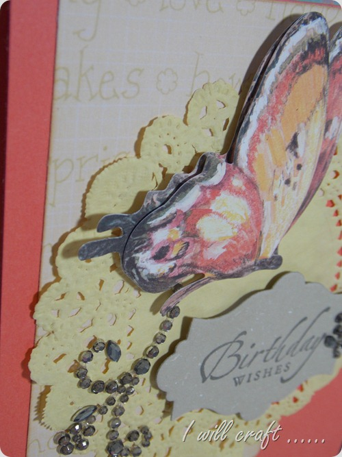 I will craft... Butterfly Birthday Card (5)