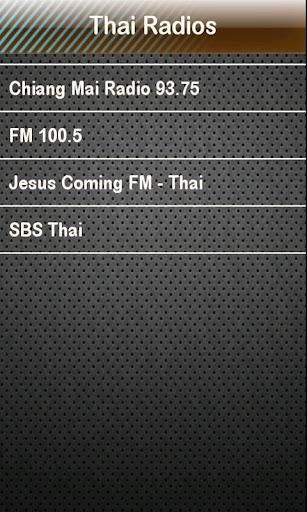 Thai Radio Thai Radios