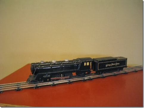Marx #994 Locomotive with 7-inch Tender