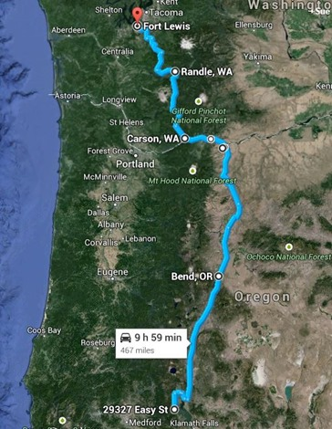 map to fort lewis