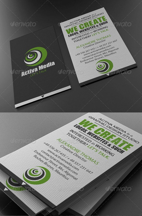 Green-Designer-Business-Card