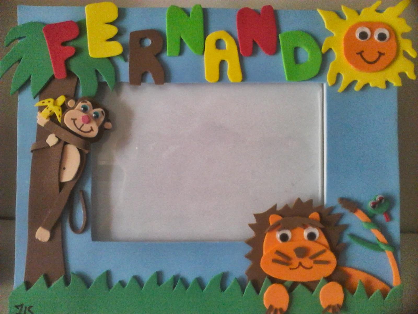 Pintando para beb s hoy estrenamos una nueva secci n de - Marcos fotos manualidades ...