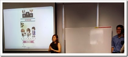 Weiyan Presenting