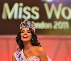 Ивиан Лунасоль Саркос Кольменарес - победительницей конкурса «Мисс Мира»