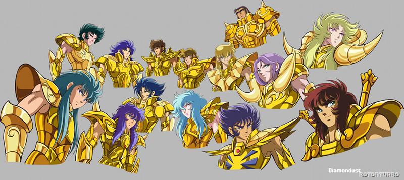 Los 12 santos de oro
