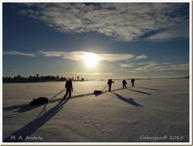 fotos de laponia 2011 lago inari y parque urho kekosen 115