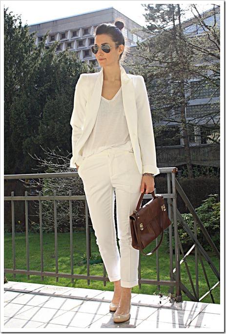 white blazer golestaneh street style 3