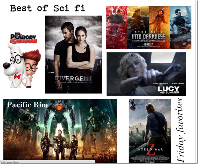best of 5, scifi movies