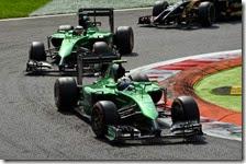 Le due Caterham saranno al via del gran premio di Abu Dhabi 2014