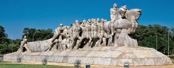 Monumento As Bandeiras, Victor Brecheret