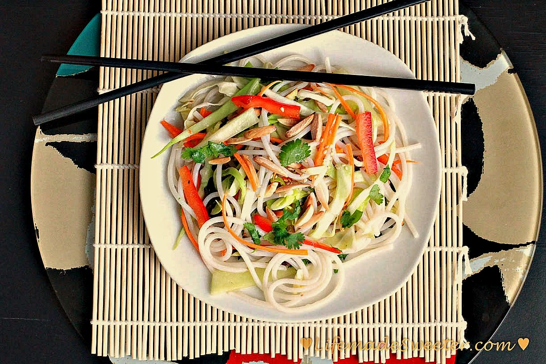 Sesame And Cilantro Vermicelli Salad Recipes — Dishmaps