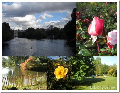 Londres jardins