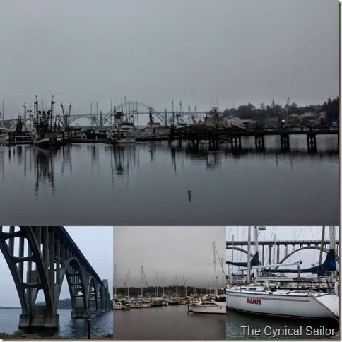 Newport Harbor Collage