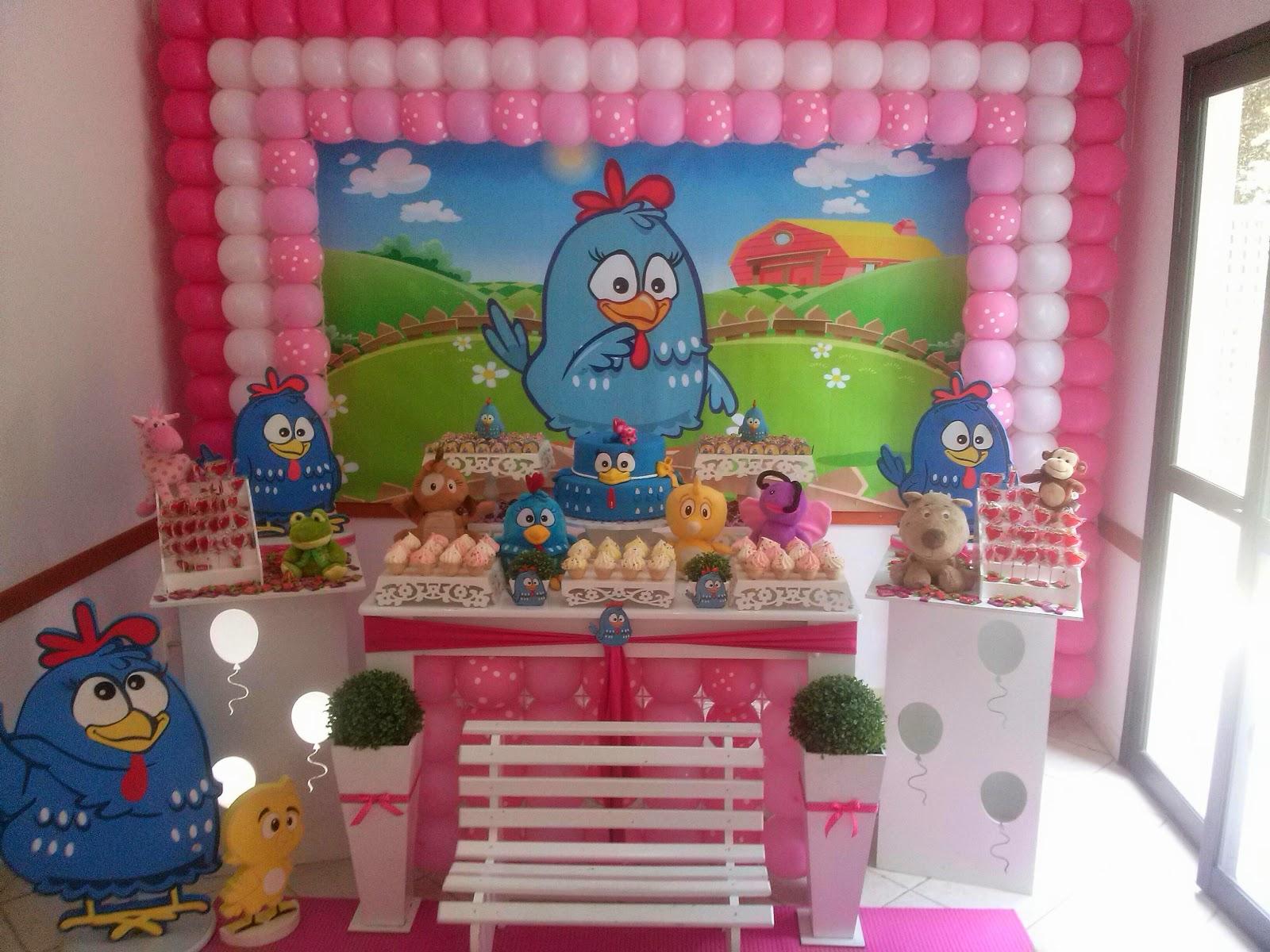 decoracao festa galinha pintadinha rosa:Galinha pintadinha p/ menina – CIFESTA DECORAÇÕES