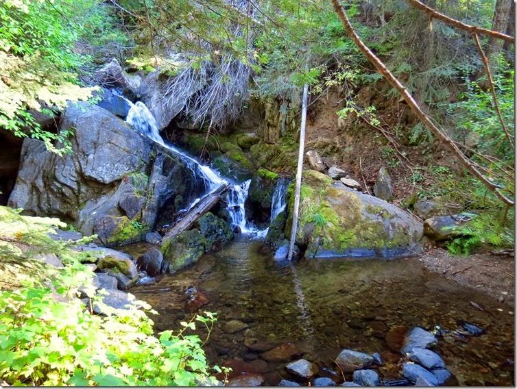 Sage Hen waterfall 1