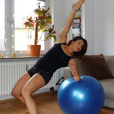 Workout mit Stability Ball