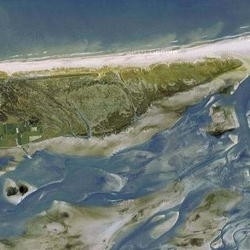 The Moving Island of Schiermonnikoog